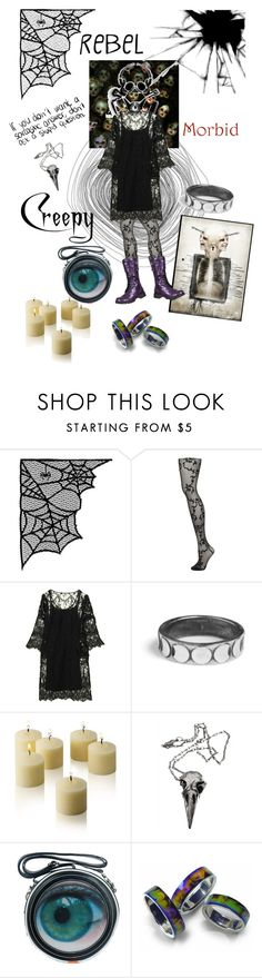 """""""Outfit #85"""" by electronic-lullaby ❤ liked on Polyvore featuring Emilio Cavallini, GAS Jeans, Rachel Entwistle and Pamela Love"""