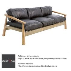 At Bespoke by Eddie da Silva we offer an exclusive range of furniture and exquisite decor items - visit our shop or our website to view more! Outdoor Sofa, Outdoor Furniture, Outdoor Decor, Decorative Items, Bespoke, Range, Retail, Website, Shop
