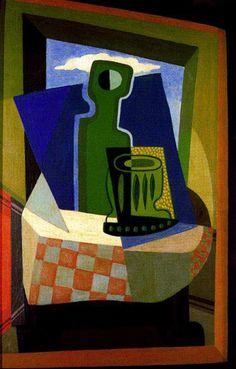 Emilio Pettoruti, Sombras en la ventana, 1925
