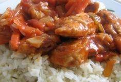 Bundázott kínai csirkemell szecsuáni mártásban recept képpel. Hozzávalók és az elkészítés részletes leírása. A bundázott kínai csirkemell szecsuáni mártásban elkészítési ideje: 30 perc Kfc, Bacon, Grains, Cooking Recipes, Diet, Chicken, Kitchen, Food, Chinese