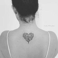Hermoso Árbol Corazón por Jacke Michaelsen