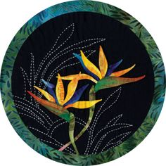 Bird of Paradise Quilt Block Kit