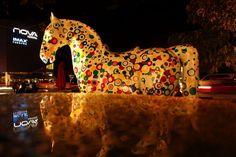 Horse Parade en Avenida Escazu
