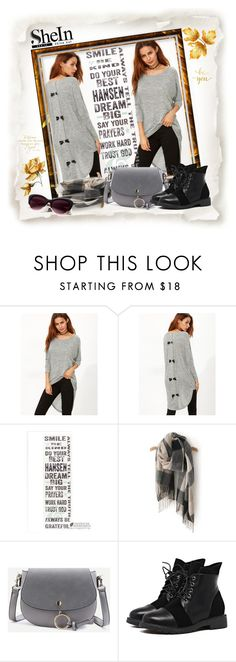 """SheIn 013"" by silvijo ❤ liked on Polyvore featuring WALL and Chanel"