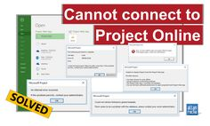 If you are having any of the issues below when using your Project Professional connected to Project Online, I have the solution for you! Microsoft Project Unable to display Projects from the Projec…