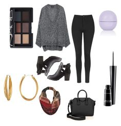 """#20"" by nuria953 on Polyvore featuring mode, Zara, Topshop, Charlotte Russe, Givenchy, Black Rivet, NARS Cosmetics, MAC Cosmetics et Diane Von Furstenberg"