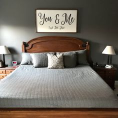 You & Me Custom Wood Signs, Do Everything, You And I, House, Furniture, Design, Home Decor, You And Me, Decoration Home