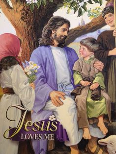 Jesus Loves Me (Found this picture of Jesus on a kids coloring book and thought it was such a nice one so I photo'd it! Pictures Of Christ, Church Pictures, Jesus Christ Images, Bible Pictures, Jesus Art, Christian Images, Christian Kids, Jesus Is Risen, Jesus Loves You