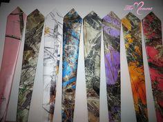follow along ∘ AmericanBelleKel . camo neck ties