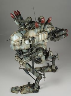 What are Maschinen Krieger or Ma.K (aka SF3D) Model Kits ...