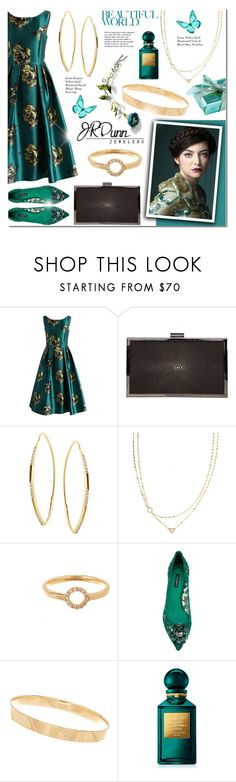 """""""Fashion Forward with JRDunn.com (295)"""" by anyasdesigns ❤ liked on Polyvore featuring Chicwish, Calvin Klein Collection, Lana, Dolce&Gabbana, Dunn, Tom Ford, Tiffany & Co., Prom, gold and party"""