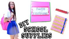 Here are some GREAT & CUTE ideas for your back to school! :)) Hope u liked it!  https://www.youtube.com/watch?v=ae7pq4iJmlA