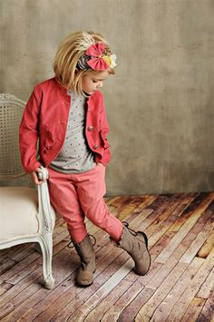 Persnickety Clothing - Riding Pants in Dark Pink Fall 2012