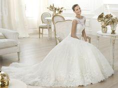 Lenit - Pronovias 2014 - Esküvői ruhák - Ananász Szalon - esküvői, menyasszonyi és alkalmi ruhaszalon Budapesten