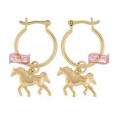 Brinco Argola c/ Cavalo - Hot Horse: Mulheres