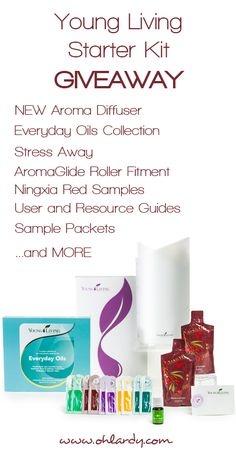 Giveaway: Young Living Premium Starter Kit! - Oh Lardy!