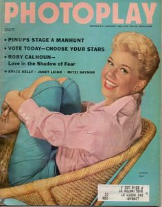 Photoplay was a pretty popular 'clean' movie magazine in the 50s - Here's Doris Day on the cover from Oct 1955