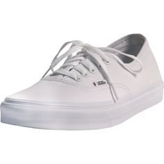 Vans - Men's Authentic Sneakers - True White