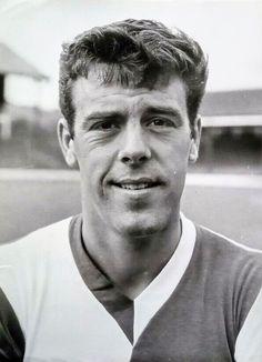 Mike England of Blackburn Rovers in Blackburn Rovers, Football, 1960s, England, Soccer, Futbol, Sixties Fashion, American Football, English