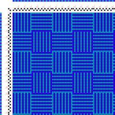 draft image: Karierte Muster Pl. XI Nr. 1, Die färbige Gewebemusterung, Franz Donat, 2S, 2T