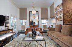 Wohnzimmer In Braun Und Beige Einrichten   55 Wohnideen | Living Room |  Pinterest | Braunes Ledersofa, Shaggy Teppich Und Ledersofa