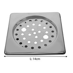 -Klaxon Bathroom Bathroom Floor Drain Jali - Square - 15x4x5 #Kriosdirect #Floor_Drain_ #Jali