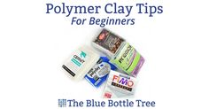 Are you new to working with polymer clay? Here are my top polymer clay tips for beginners. Learn about sealers, baking, hard clay, mistakes, and more.