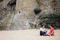 Séance engagement à Saint-Malo, en Bretagne (France) par © Amandine Ropars