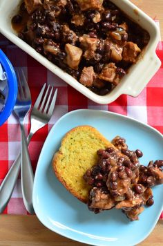 Delicious Pork and Black Beans made in the slow cooker. How could you resist?