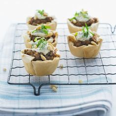 Our Middle Eastern lamb pies combine your favourite Philly with mint to garnish an already delicious combination of lamb and Middle Eastern spices. Lamb Pie Recipes, Cooking Recipes, Cheese Recipes, Easy Dinner Recipes, Appetizer Recipes, Savoury Recipes, Dinner Ideas, Easy Eat, Eastern Cuisine