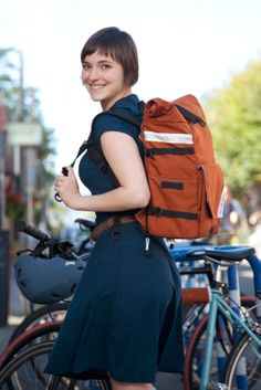Pannier into Backpack! Made in Portland, Oregon #northstbags