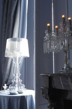 Kartell Bourgie Lamp obsession .... in Clear ❤