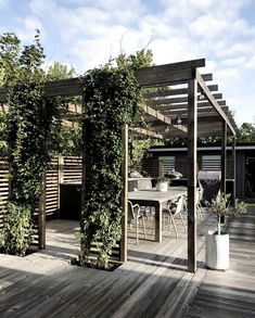 Planning Your Pergola Modern Pergola, Outdoor Pergola, Pergola Patio, Backyard Patio, Backyard Landscaping, Outdoor Spaces, Outdoor Living, Small Pergola, Pergola Shade