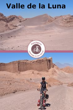 37 Best Atacama-Wüste & Chile per Fahrrad images in 2020 Best Places In Europe, Best Places To Vacation, Chile, Slow Travel, South America Travel, Travel Images, Monument Valley, La Luna, Bike Ideas