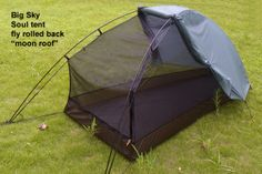 "Billed as the ""worlds lightest double walled free standing tent"" - Soul 1P tent - Big Sky International"