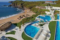 All-Inclusive Mexico Vacation to Secrets Huatulco Resort & Spa All Inclusive Mexico Vacations, Dream Vacations, Vacation Club, Vacation Spots, Vacation Resorts, Vacation Ideas, Honeymoon Romance, Honeymoon Destinations, Mexico Destinations