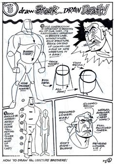 How To Draw The Venture Brothers - Page 5Venture Bros. Blog |
