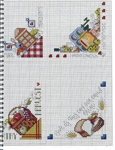 Revista Bread Cloths Ponto Cruz - Lucilene Donini - Веб-альбомы Picasa