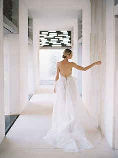 Stunning wedding dress by MXM Couture. Image: Katie Grant.