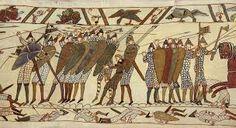 (49) 500 – También emprendió la incorporación de los laeti (asentamientos de bárbaros en el interior del Imperio romano) dispersos por la Galia: los sajones de Bayeux, los alanos de Armórica y los taifales de Poitou, por nombrar algunos de los más prominentes.