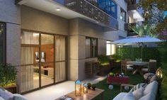 Resultado de imagem para projeto apartamento garden