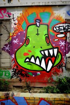 Street art - paris 19, rue henri nogueres (juin 2013)