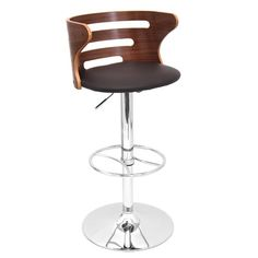 Found it at AllModern - Lafayette Adjustable Height Swivel Bar Stool