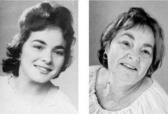 カメラマンが60年を越えて顔をエージング比較