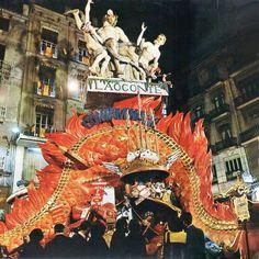 Plaza de la Merced 1972. Primer Premio Sección Especial. Artista: Salvador Debón. Lema: La Contaminació