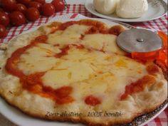 Pizza cotta in padella (veloce e senza glutine) | zero glutine...100% Bontà