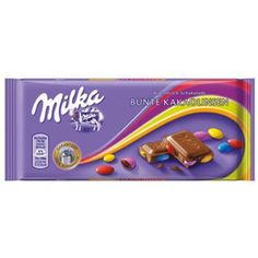 KRAFT Milka Smarties CONFETTI (Bunte Kakaolinsen) Chocolate 100g x 20 units