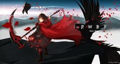 Rating: Safe Score: 143 Tags: boots cape dress gray_eyes neko_(greedlinn) petals red_hair ruby_rose rwby scythe short_hair signed weapon User: Flandre93