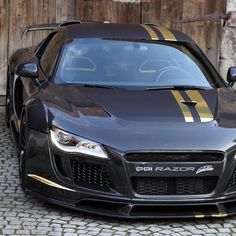 Fierce Audi R8 Razor! Click on the pic & sign up today to carhoots for insanely awesome 'pintastic' car pics!