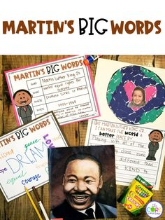 Teach about Martin Luther King Jr. with these 4 day interactive read-aloud plans